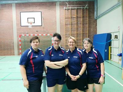 Vorschaubild zur Meldung: Tischtennis- Damen ohne Glück in der Relegation