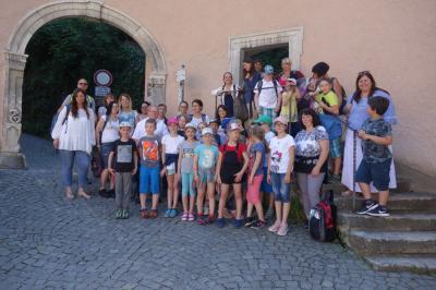 Foto zur Meldung: Kommunionausflug 2019 nach Weltenburg und Regensburg