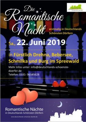 Foto zur Meldung: Romantische Nacht erstmalig in Deutschlands Schönsten Dörfern