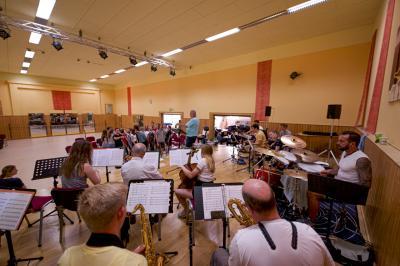 Philipp Falkenhagen | Orchesterprobe zum Schulmusical