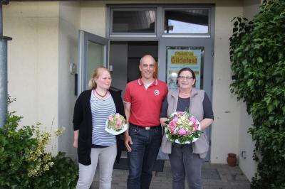 Von links: Ines Greve- Beyer, Holger Weiß, Renate Schmitt