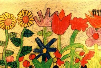 Foto zur Meldung: Kinderkunst - Ausstellung nach den Sommerferien