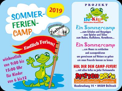 Vorschaubild zur Meldung: Angebote für Kinder in den Sommerferien