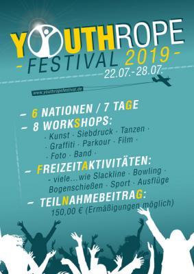 Vorschaubild zur Meldung: 3 freie Plätze für das Internationale Jugendkunst- und Kulturfestival
