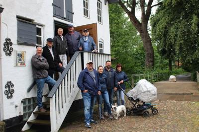 Foto zur Meldung: Gäste erkunden die Wassermühle