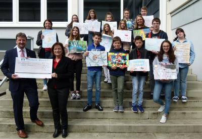 Foto zur Meldung: Ortssieger des 49. Internationalen Jugendwettbewerbs zum Thema Musik stehen fest – Volksbank Rheinböllen eG gratuliert