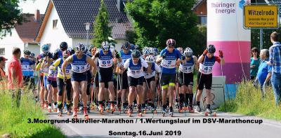 Foto zur Meldung: 3.Moorgrund-Skiroller-Marathon