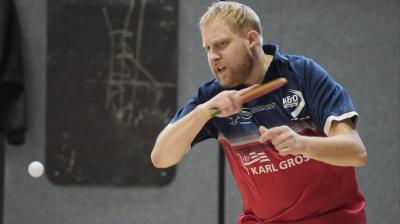 Vorschaubild zur Meldung: Huder Tischtennisspieler Felix Lingenau bei der DM in Erfurt