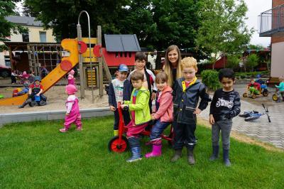 Vorschaubild zur Meldung: Laufrad für den Evangelischen Kindergarten