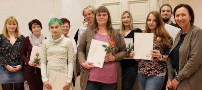 Die erfolgreichen Teilnehmerinnen und Teilnehmer
