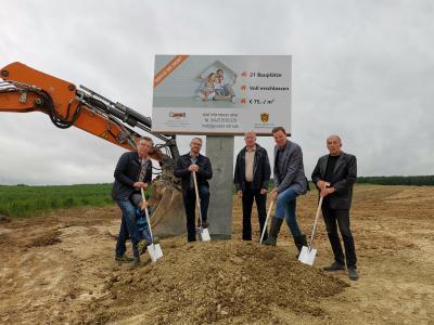"""Foto zur Meldung: """"Willingshausen wächst"""" Spatenstich für Neubaugebiet in Willingshausen"""