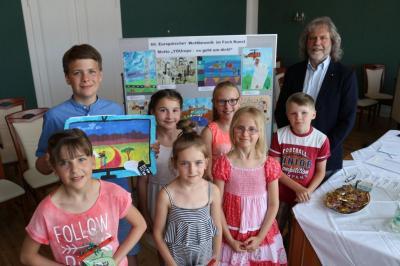 Foto zur Meldung: Calauer Künstlernachwuchs räumt beim 66. Europäischen Wettbewerb ab