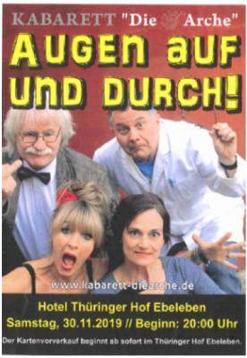 """Vorschaubild zur Meldung: Kabarett """"Die Arche"""""""