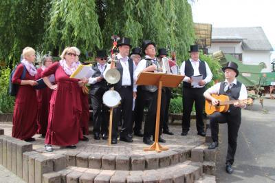 Vorschaubild zur Meldung: Kraftsolms feierte sein 700jähriges Dorfjubiläum