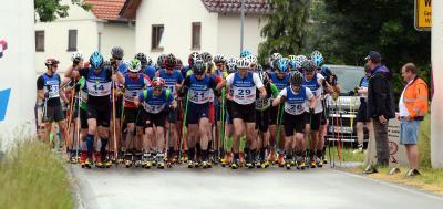 Foto zur Meldung: Ergebnisliste 3. Moorgrund-Skiroller-Marathon