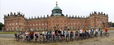 Foto zur Meldung: Sommerliche Radtour mit dem Fanfarenzug
