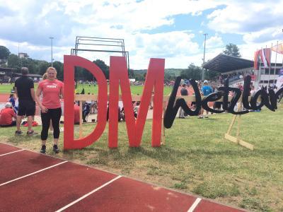 Foto zur Meldung: Jessica Wlodasch und Silvana Tinnes bei DM U23 in Wetzlar