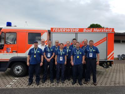 Foto zur Meldung: - Brandwache FFW Hauneck beim Hessentag in Bad Hersfeld