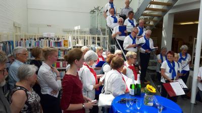 Foto zur Meldung: Jubiläumsfeier - 25 Jahre Gemeindebibliothek Holzwickede