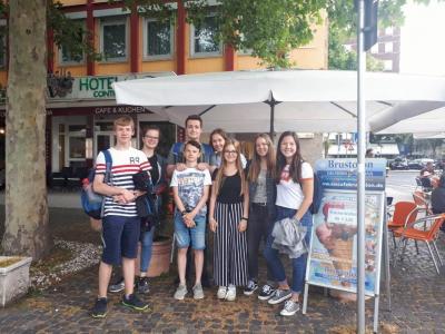 In Koblenz bei der mündlichen Prüfung am 15. Juni 2019