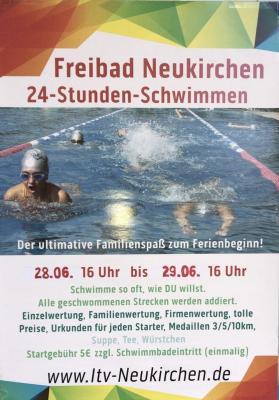 Vorschaubild zur Meldung: Der ultimative Familienspaß zum Ferienbeginn im Freibad Neukirchen