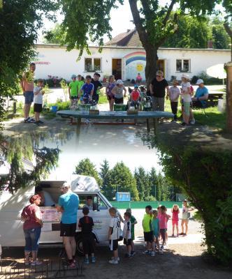 Foto zur Meldung: Unser Sportfest der Evangelischen Schraden-Grundschule