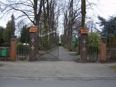 Foto zur Meldung: Wasserentnahmestellen auf dem Gemeindefriedhof
