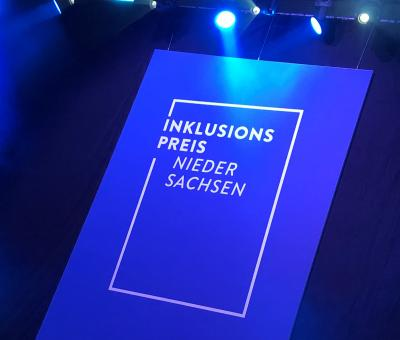 Foto zur Meldung: Vergabe des Inklusionspreises 2019