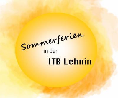 Foto zur Meldung: Sommerferienplan der ITBL