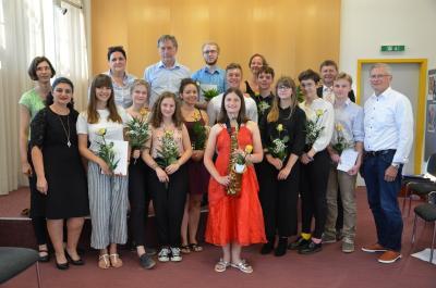 Foto zur Meldung: Mit Talent und viel Fleiß: das Auszeichnungskonzert der Musikschule Oberspreewald-Lausitz