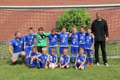 Foto zur Meldung: U08/1: F2-Jugend - Kreispokal - Niederlage erst im Finale