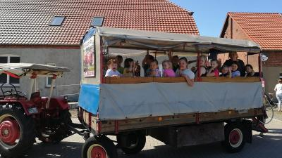Foto zur Meldung: Groß Laasch - Sommerferien - endlich Pause vom Schulalltag!