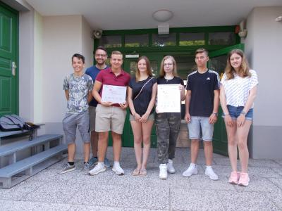"""Foto zur Meldung: Auszeichnung """"Schule mit hervorragender Berufs- und Studienorientierung"""""""
