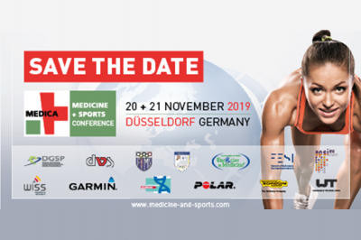 Bild der Meldung: Save the Date: 7. MEDICA MEDICINE + SPORTS CONFERENCE am 20. + 21. November 2019