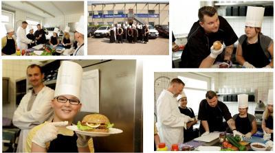 Foto zur Meldung: Unser Tag bei der IB-Küche