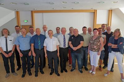 Foto zur Meldung: Erste Zusammenkunft der neuen Calauer Stadtverordnetenversammlung