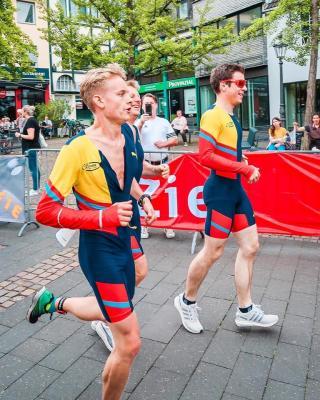 Foto zur Meldung: Der flotte Dreier auf Platz 5, und René Göldner Stadtmeister