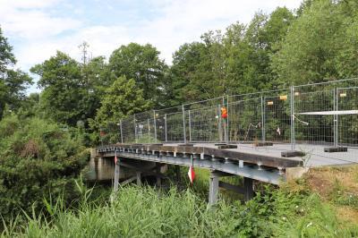 Foto zur Meldung: Emster-Brücke wird im Juli wieder eröffnet
