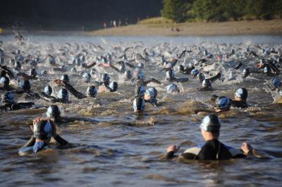 Foto zur Meldung: Freistarts für Schwarmützelsee-Triathlon