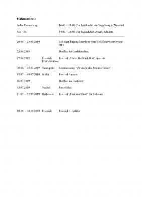 Vorschaubild zur Meldung: Informationen zum Jugendclub Neustadt