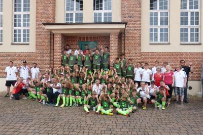 Foto zur Meldung: 12. Fußballcamp des ESV Lok Falkenberg - 2. Tag