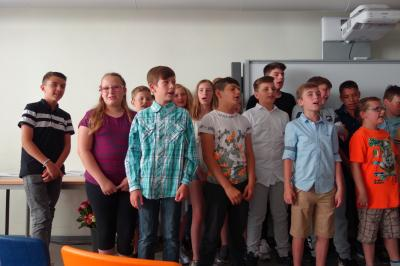 Foto zur Meldung: Und tschüss: Abschied von den 6. Klassen