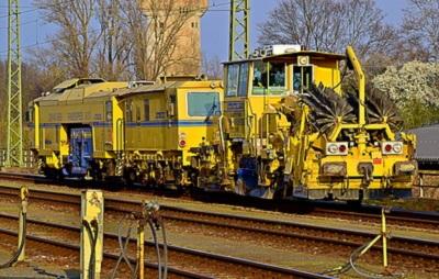 Gleisbauarbeiten fallen zwischen dem 24. Juni 2019 und 7. Juli 2019