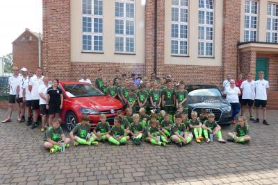 Foto zur Meldung: 12. Fußballcamp des ESV Lok Falkenberg - 3. Tag
