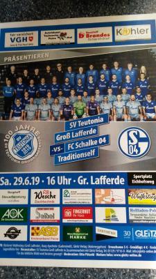 SV Teutonia Groß Lafferde-vs-FC Schalke 04 Traditionsmannschaft