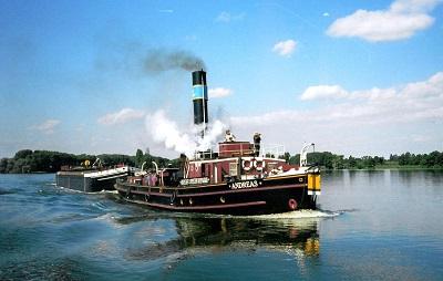 Vorschaubild zur Meldung: Mit dem Dampfschiff nach Stettin