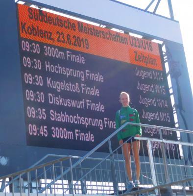 Vorschaubild zur Meldung: Süddeutsche Meisterschaften