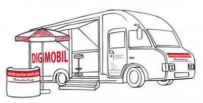 Vorschaubild zur Meldung: Digimobil in Kyritz: Erste Hilfe in Verbraucherfragen