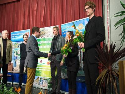 Foto zur Meldung: Landesgartenschau 2022 - Besichtigung der Wettbewerbsarbeiten