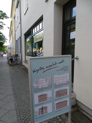 Vorschaubild zur Meldung: Pläne für die künftige Stadtbibliothek im Klosterviertel vorgestellt